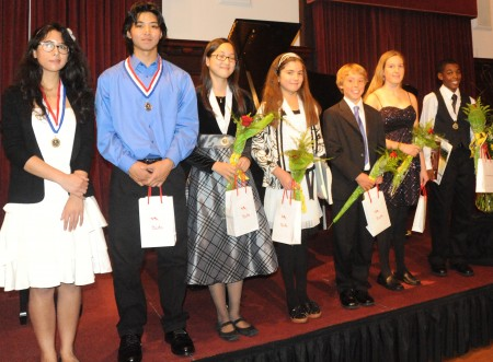 Paderewski Youth Competition winners 11-14-09
